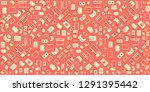 gadgets and devices pattern   Shutterstock .eps vector #1291395442
