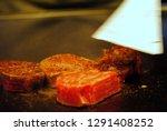 super delicious kobe steak set... | Shutterstock . vector #1291408252
