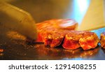 super delicious kobe steak set... | Shutterstock . vector #1291408255