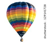colorful hot air balloon... | Shutterstock .eps vector #129141728