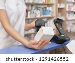 cropped close up of pharmacist... | Shutterstock . vector #1291426552