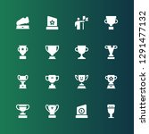 contest icon set. collection of ...   Shutterstock .eps vector #1291477132