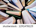 textured background from open... | Shutterstock . vector #1291478125