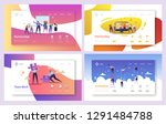 business people teamwork... | Shutterstock .eps vector #1291484788