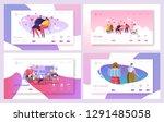 love couple travel in park... | Shutterstock .eps vector #1291485058