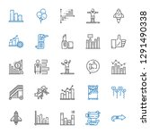 up icons set. collection of up... | Shutterstock .eps vector #1291490338
