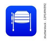 concrete mixer icon digital... | Shutterstock .eps vector #1291494592