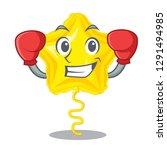 boxing star balloon was flown... | Shutterstock .eps vector #1291494985