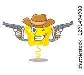 cowboy star balloon was flown... | Shutterstock .eps vector #1291494988