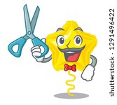 barber star balloon was flown... | Shutterstock .eps vector #1291496422