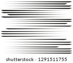 speed lines horizontal.black... | Shutterstock . vector #1291511755