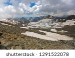 partial snow visible on... | Shutterstock . vector #1291522078