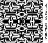 design seamless monochrome...   Shutterstock .eps vector #1291523632