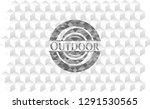 outdoor grey emblem. vintage... | Shutterstock .eps vector #1291530565