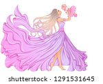 illustration of a beautiful... | Shutterstock .eps vector #1291531645