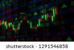3d rendering of stock indexes... | Shutterstock . vector #1291546858