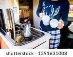 Cooking Coffee In Campervan ...