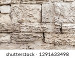 old grungy stone wall  close up ... | Shutterstock . vector #1291633498