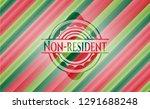 non resident christmas style... | Shutterstock .eps vector #1291688248