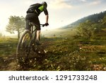 mountainbike in the mountains | Shutterstock . vector #1291733248