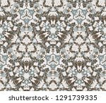 kaleidoscope seamless pattern ...   Shutterstock .eps vector #1291739335