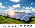 solar panel  photovoltaic ... | Shutterstock . vector #1291751938