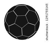 vector design of soccer and... | Shutterstock .eps vector #1291755145