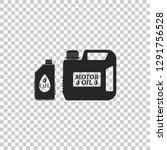 plastic canister for motor... | Shutterstock .eps vector #1291756528