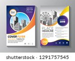 business abstract vector... | Shutterstock .eps vector #1291757545