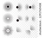 Set Of Radar Icons. Sonar Sound ...