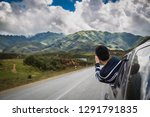 asian man traveler travel by... | Shutterstock . vector #1291791835