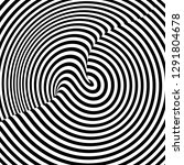 pattern with optical illusion.... | Shutterstock .eps vector #1291804678