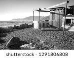 Panorama Of The Beach Of...