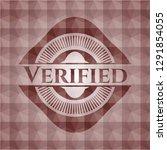 verified red seamless geometric ... | Shutterstock .eps vector #1291854055