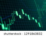 stock market or forex trading... | Shutterstock . vector #1291863832