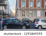 lyon  france  march 10  2018 ... | Shutterstock . vector #1291869295