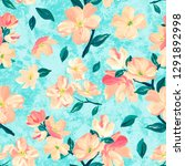 seamless background pattern of... | Shutterstock . vector #1291892998