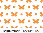collection of butterfly... | Shutterstock .eps vector #1291898422