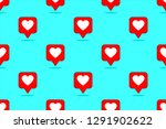 heart icon collection  trendy... | Shutterstock .eps vector #1291902622