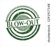 green blow out rubber texture | Shutterstock .eps vector #1291917148