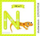letter n uppercase cute... | Shutterstock .eps vector #1291919518