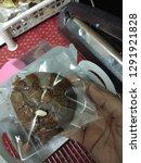 crinkle brownie cookies with... | Shutterstock . vector #1291921828