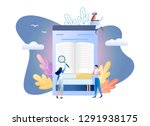 flat vector illustration of... | Shutterstock .eps vector #1291938175