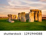 Close Up View Of Stonehenge...