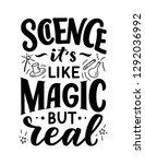sketch banner with fun slogan... | Shutterstock .eps vector #1292036992