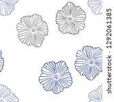 dark blue vector seamless...   Shutterstock .eps vector #1292061385