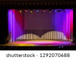 theatrical scene without actors ... | Shutterstock . vector #1292070688