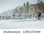 amsterdam  netherlands  ... | Shutterstock . vector #1292172445