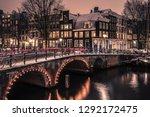 amsterdam  netherlands  ... | Shutterstock . vector #1292172475
