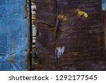 rusty iron texture  rusty iron... | Shutterstock . vector #1292177545